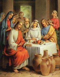 Wedding Feast At Cana.Wedding Feast At Cana Nunspeak
