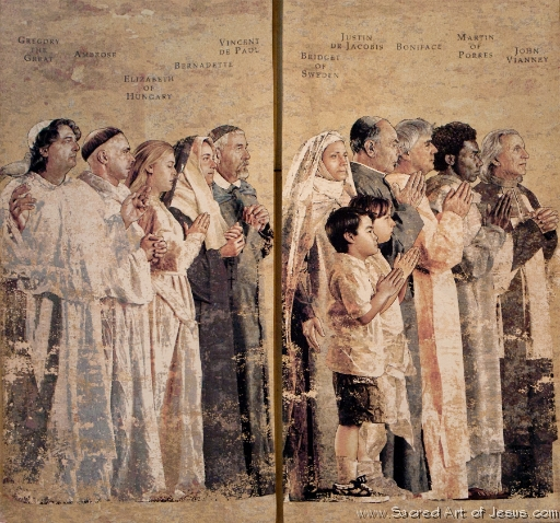 Communion of Saints, John Nava, 2002 O5H0166